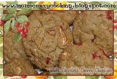 Day 4 (2010) - White Chocolate Cherry Chunck Cookies