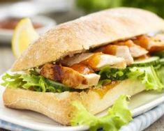 Sandwich Chicken Mango Chutney Stock Photo (Edit Now) 248183665 Croissant Sandwich, Bagel Sandwich, Pork Sandwich, Sandwich Recipes, Lunch Recipes, Healthy Recipes, Grilled Chicken Sandwiches, Cucumber Sandwiches, Sandwiches For Lunch