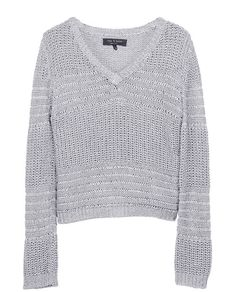 rag & bone Official Store, Janice Pullover, grey fl, Womens : Ready to Wear : Sweaters : Cotton, W2346258M