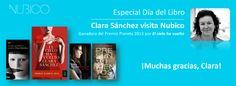 En Nubico hemos contado con un encuentro digital muy especial por el Día del Libro: Clara Sánchez, ganadora del Premio Planeta 2013 https://www.facebook.com/NubicoEbook/app_190322544333196