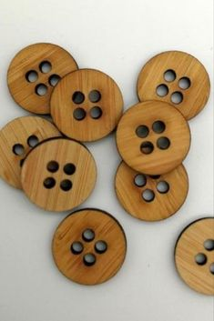 Designed and made by Arrow Mountain. They have extra large holes to take yarn and are ideal for your hand knits. #BeyondMeasure #ArrowMountain #button #wooden #knitwear Hand Knitting, Knits, Arrow, Knitwear, Bamboo, Mountain, Buttons, Hand Weaving, Tricot