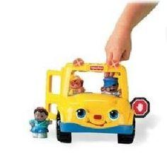 Fisher price Coffret bus et figurines