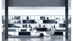 Opus Storage Shelving System by Rimadesio  Available at Haute Living