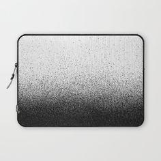 DUST / black Laptop Sleeve by DANIEL COULMANN | Society6