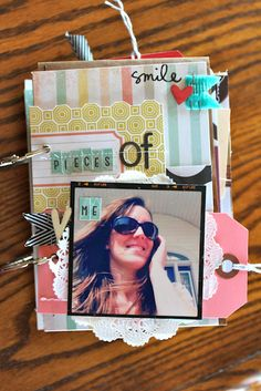 "Awesome ""Pieces of Me"" mini album. Adrienne Alvis."