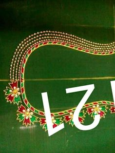 Kids Blouse Designs, Hand Work Blouse Design, Simple Blouse Designs, Silk Saree Blouse Designs, Dress Neck Designs, Bridal Blouse Designs, Designs For Dresses, Simple Embroidery Designs, Maggam Work Designs