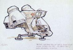 spaceship design Ron Cobb