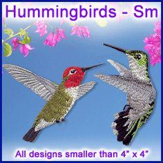 A Hummingbirds Design Pack - Sm