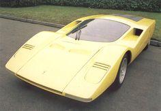 Ferrari 512 S Berlinetta Speciale (Concept Car Pininfarina, Peugeot 406, Automobile, Roadster, Fiat Abarth, Ferrari Car, Futuristic Cars, Automotive Design, Fast Cars, Sport Cars