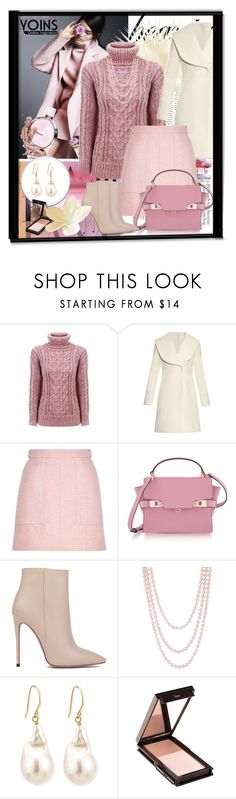 """""""Yoins.com Contest - Win Pink Jumper with High Neck or $30 voucher!!!"""" by suadapolyvore ❤ liked on Polyvore featuring Chanel, J.W. Anderson, River Island, Henri Bendel, Akira Black Label, Linda Bergman, Jouer, women's clothing, women's fashion and women"""