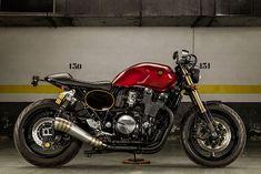 """8negro: Yamaha XJR1300 """"The shinner"""":: Macco Motors."""