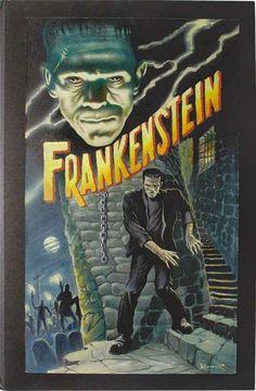 Universal Classic Monsters Poster Art : Frankenstein 1931 by Frank Brunner