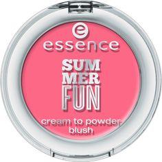 summer fun - cream to powder blush 01 girls just wanna have sun - essence cosmetics