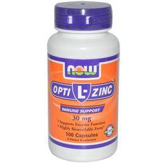 Zink + Copper _ Now Foods, L-OptiZinc, 30 mg, 100 Capsules - iHerb.com    Bоryana http://www.bg-mamma.com/index.php?topic=741504.435