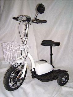 The Travel-X three wheels electric scooter - epizontech.com