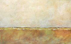 LARGE Abstract Painting Abstract Landscape by paintallnightstudios, $375.00