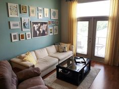 like the wall color - Albert & Katy's Cheerful Colors