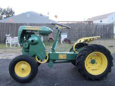 Yesterday's Tractors - Antique Garden Tractor Photos - 1957 Bolens Super Ride A Matic