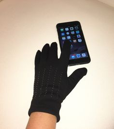 A personal favorite from my Etsy shop https://www.etsy.com/listing/257209403/touch-screen-gloves-for-women-with