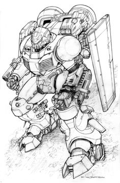 Power Armor WIP by ChuckWalton.deviantart.com on @DeviantArt