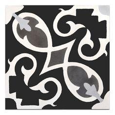 "Moroccan Mosaic Tile House Agadir 8"" x 8"" Cement Tile & Reviews | Wayfair"