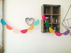 doily garland by Aidie's Hideaway