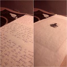 Esta es la sexta entrega de una historia escrita a mano, sobre lo que ya no habla una pareja.