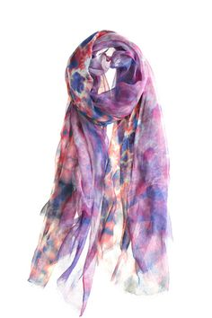 Hippie Blues Scarf by Bindya.