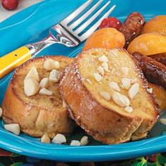 Macadamia Nut French Toast - prep the night before, just cook & enjoy in the AM