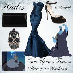 """Disney Style: Hades"" by trulygirlygirl on Polyvore"