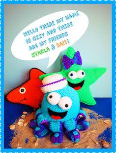 (4) Name: 'Crocheting : Free Ozzy Starla Bait Pillows Pattern©