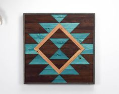 Reclaimed Wood Wall Art Hanging Wooden by RoamingRootsWoodwork