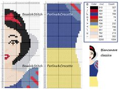 Ricami e schemi x punto croce, piantine e. Cross Stitch Bookmarks, Just Cross Stitch, Beaded Cross Stitch, Cross Stitch Embroidery, Disney Cross Stitch Patterns, Cross Stitch Designs, Pixel Art, Disney Bookmarks, Art Perle