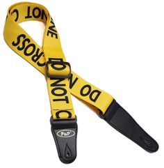 Police Line Pattern Guitar Strap Electric Guitar Acoustic Guitar Folk Guitar Bass Strap Bass Guitar Straps, Acoustic Guitar Strap, Guitar Gifts, Cool Guitar, Musical Instruments, Cool Things To Buy, Musicals, Cool Stuff, Leather