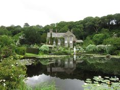 arabella lennox boyd – invention and boundless imagination in the gardens at gresgarth hall... A splendid blog post on an awe-inspiring home and garden.