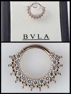 OMG I'd LOVE to own this beauty for my septum piercing!!!   if you are looking for a new piece of jewelry for your septum, daith, nostril…or many other piercings….we think the Kolo from BVLA will work quite nicely.