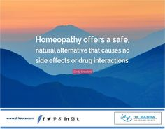 #Homeopathy an Alternative #Medicine effective Therapy www.drkabra.com