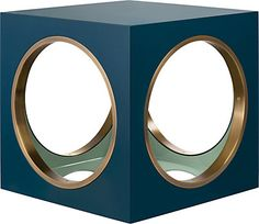 The Lacquer Company Circles & Squares Side Table - Furniture - 504009145