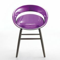 Chaise TINA.OM avec pieds en bois de SOFTLINE - superstore.fr -