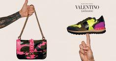 Valentino Camurock Ad Campaign