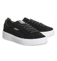 Black White Puma Suede Platform From Office Co Uk