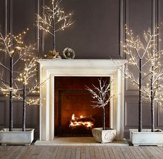 Love these trees! Can be used all year round or just as Christmas decor