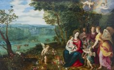 Jan Brueghel II, Rest on the Flight into Egypt, circa 1602-1605, Private Collection, Luxembourg.