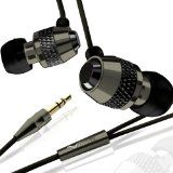 V-MODA Vibe In-Ear Noise-Isolating Metal Headphone (Gunmetal Black) (Electronics)By V-Moda