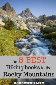 Here are the 8 best Rocky Mountain hiking books that I have used during my years exploring the Rockies. These will help you find tons of fun trails and areas to visit. Thru Hiking, Hiking Tips, Trail Guide, Hiking With Kids, Mountain Hiking, Rocky Mountain National Park, Best Hikes, Rocky Mountains, Colorado Mountains
