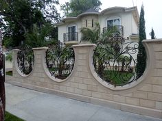 234 Best Block Wall Fence Images In 2014 Concrete Block