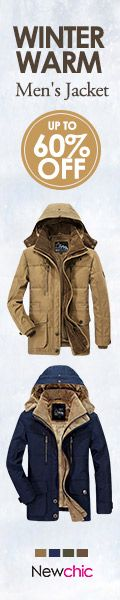 Mens Jacket collection discount upto 60% at #Newchic Shop now for cheap outwear jackets