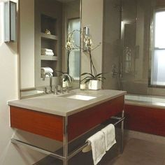 cuarto de bano moderno Ejemplos de Baños Modernos y Elegantes