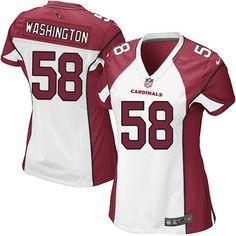 c970b69d6 ... Women Nike Arizona Cardinals 58 Daryl Washington Limited White NFL  Jersey Sale ...