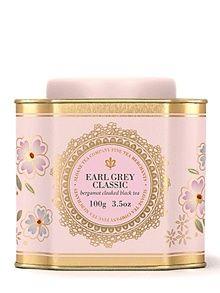 Earl Grey tin of tea <3